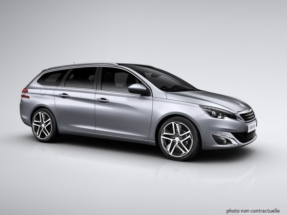 peugeot 308 sw allure 1 6 bluehdi 120 cv lorraine automobiles garage desa. Black Bedroom Furniture Sets. Home Design Ideas